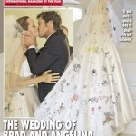 Angelina Jolie Wears Versace Gown For Her Wedding