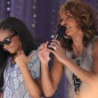 Whitney Houston + Bobbi Kristina performing on GMA 2009 cc Asterio Tecson